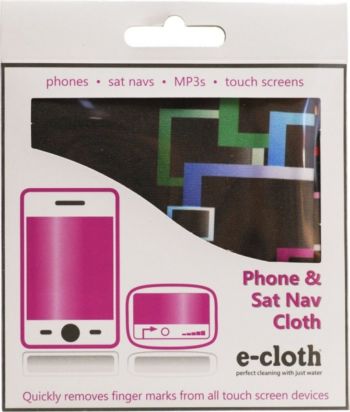 Laveta Premium E-Cloth pentru Ecran Telefon, Tableta, Navigatie, MP3, Touch Screen, 19 x 19 cm